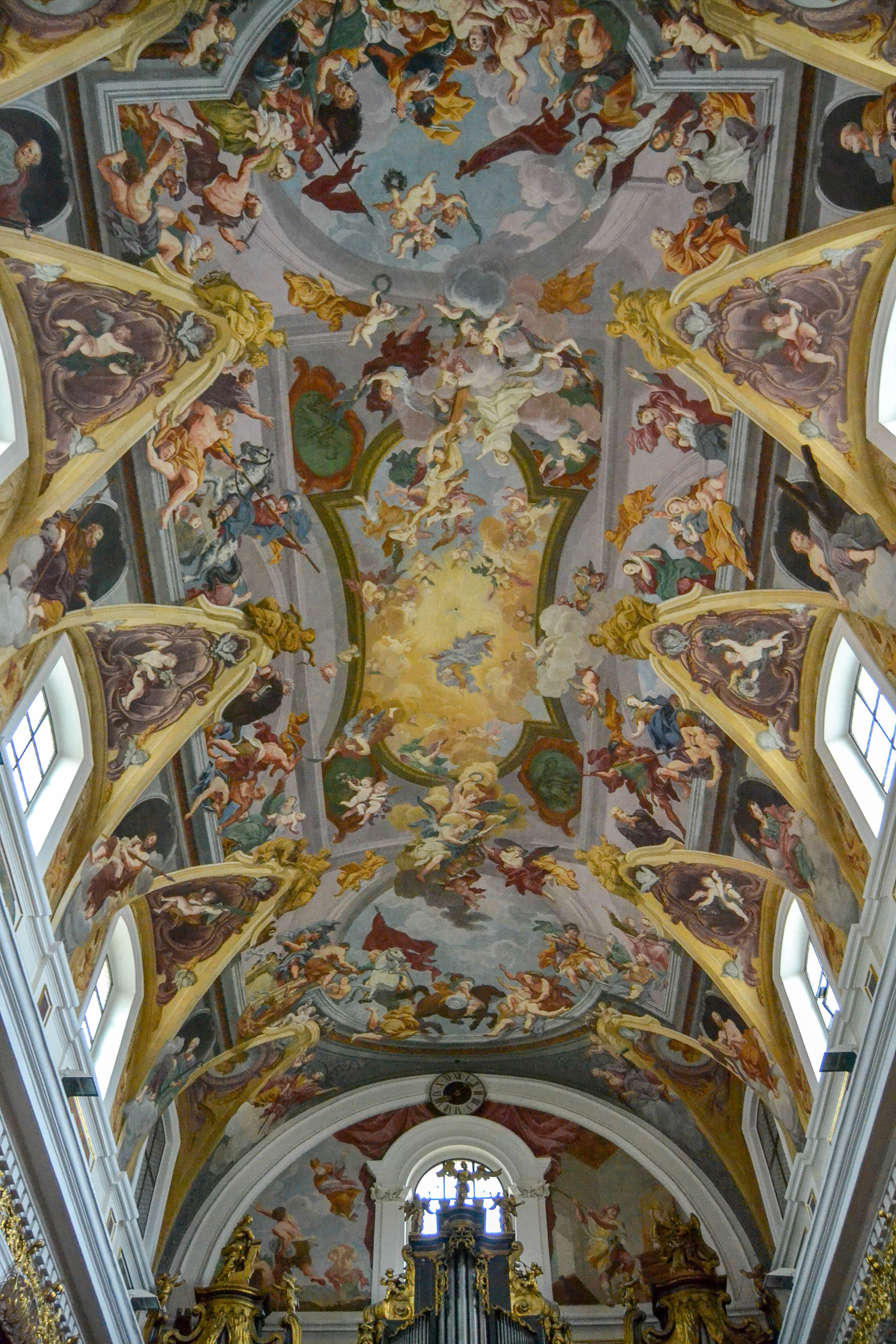 Ljubljana Cathedral Ceiling Fresco