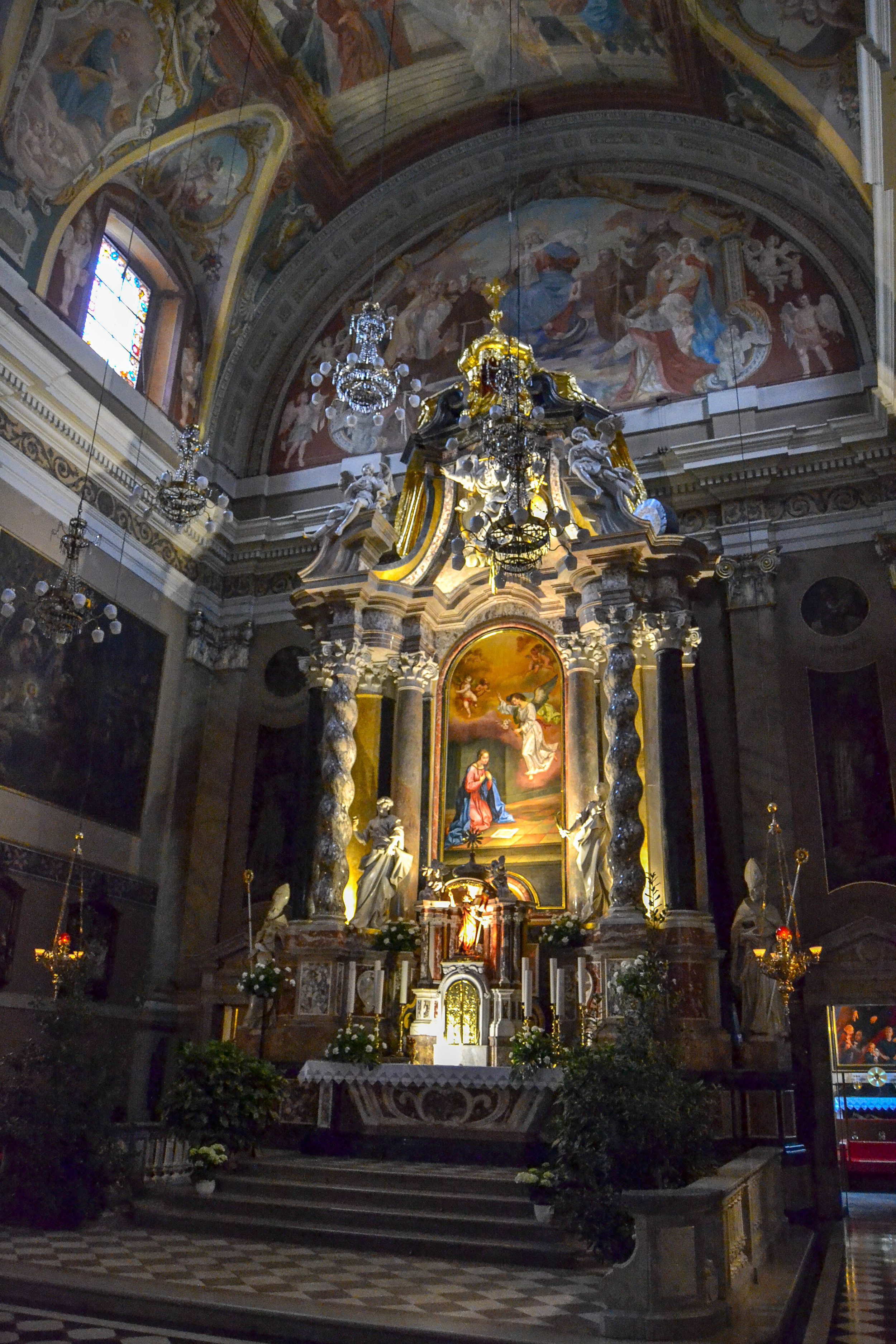 High Altar of the Franciscan Church of the Annunciation