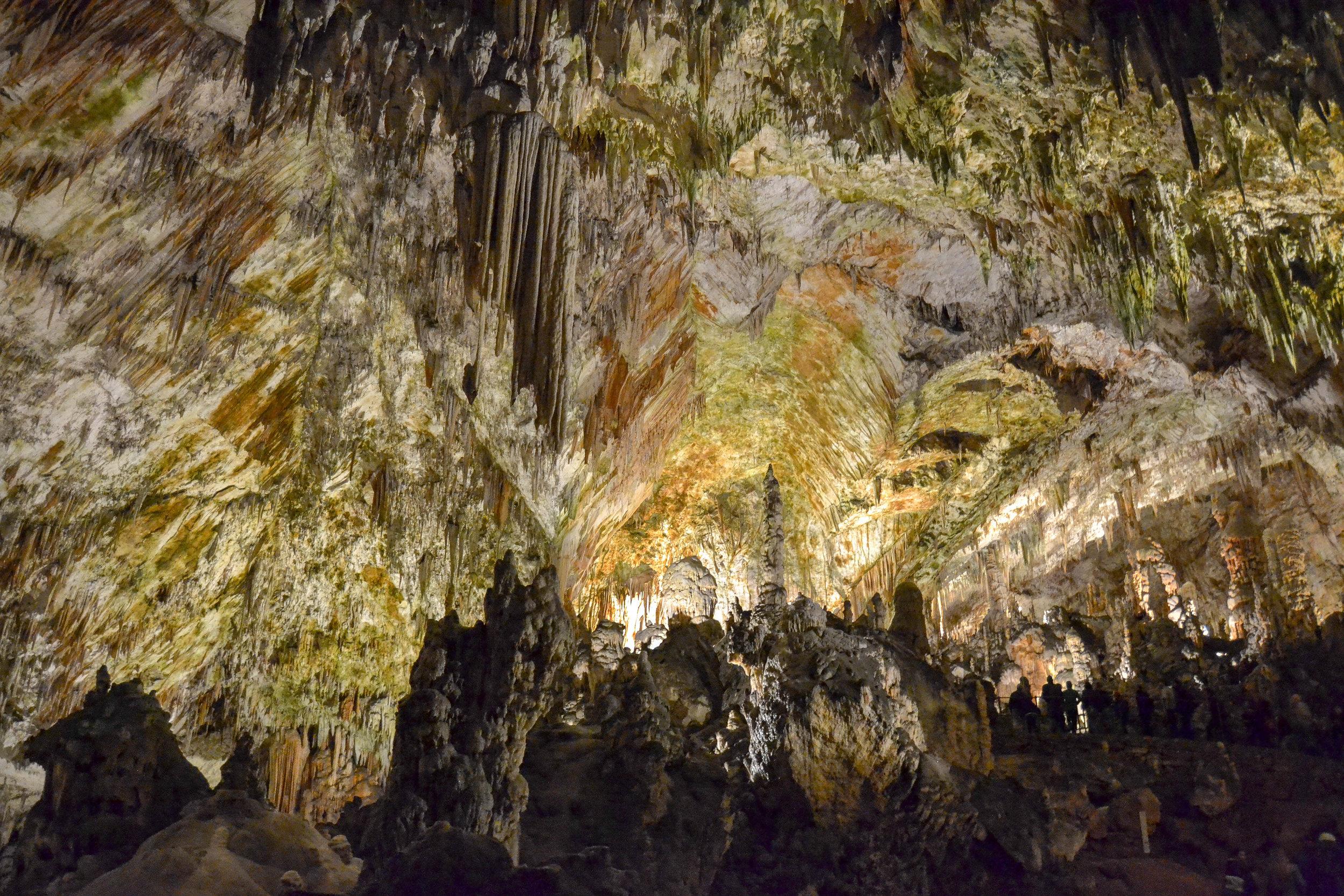 Postojna Cave Stalactites