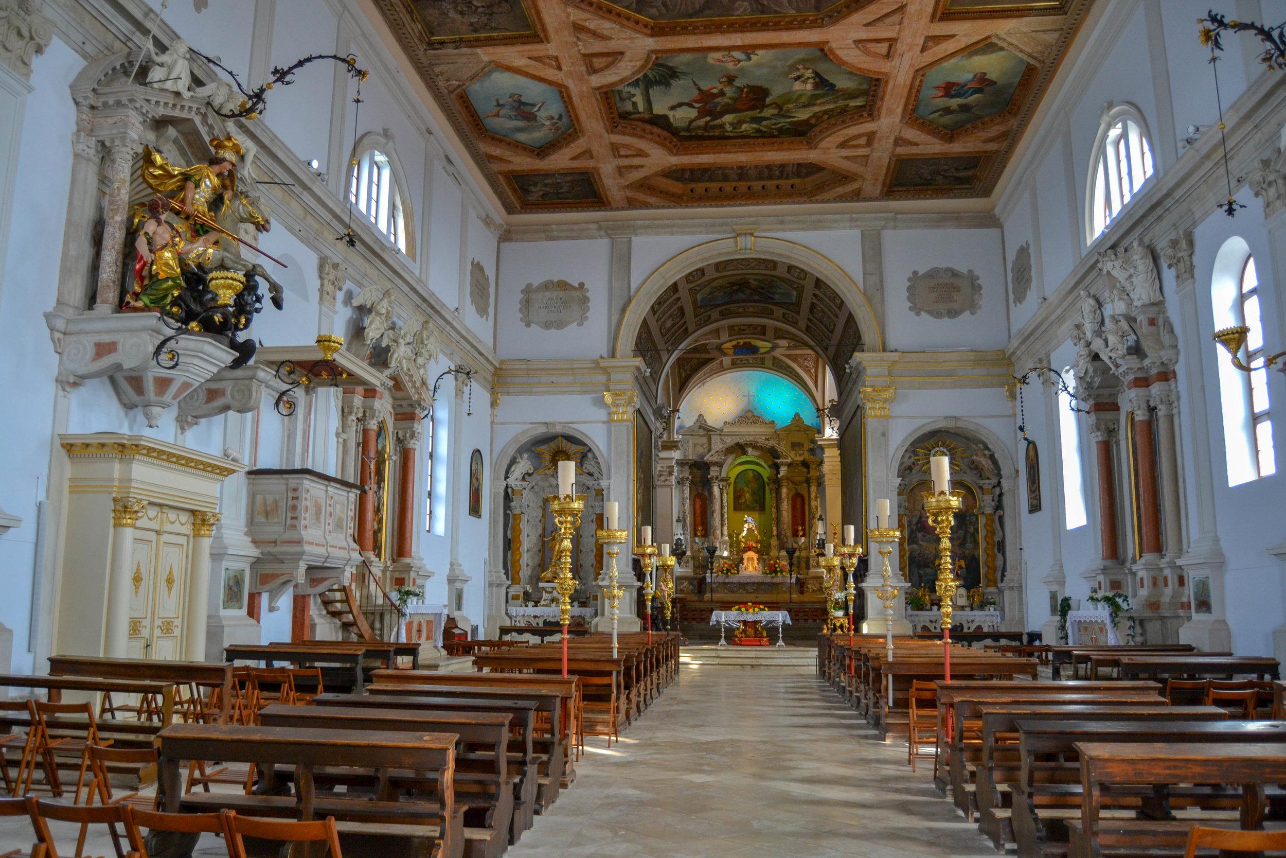 Church of St. George in Piran