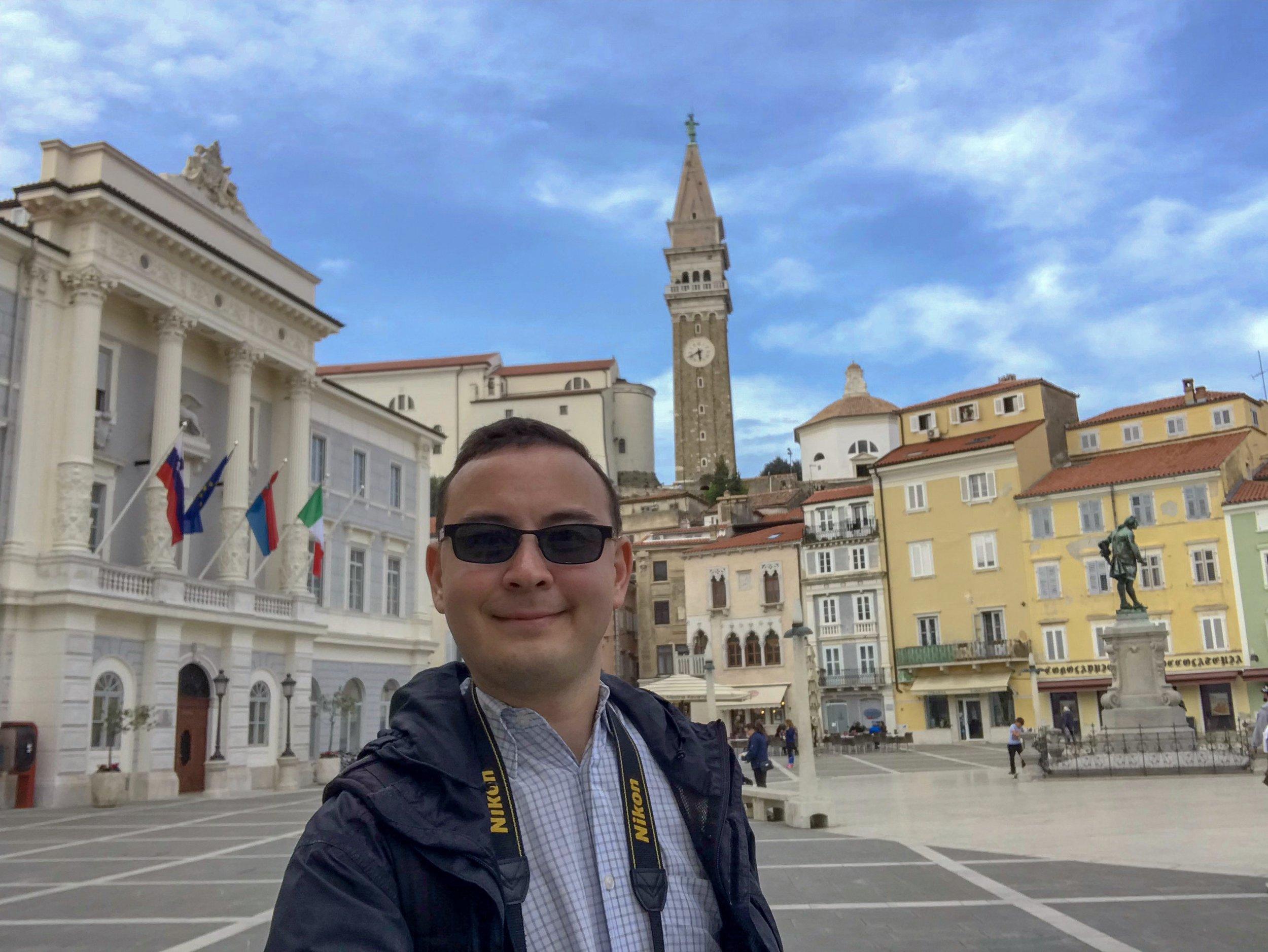 Selfie in Tartini Square