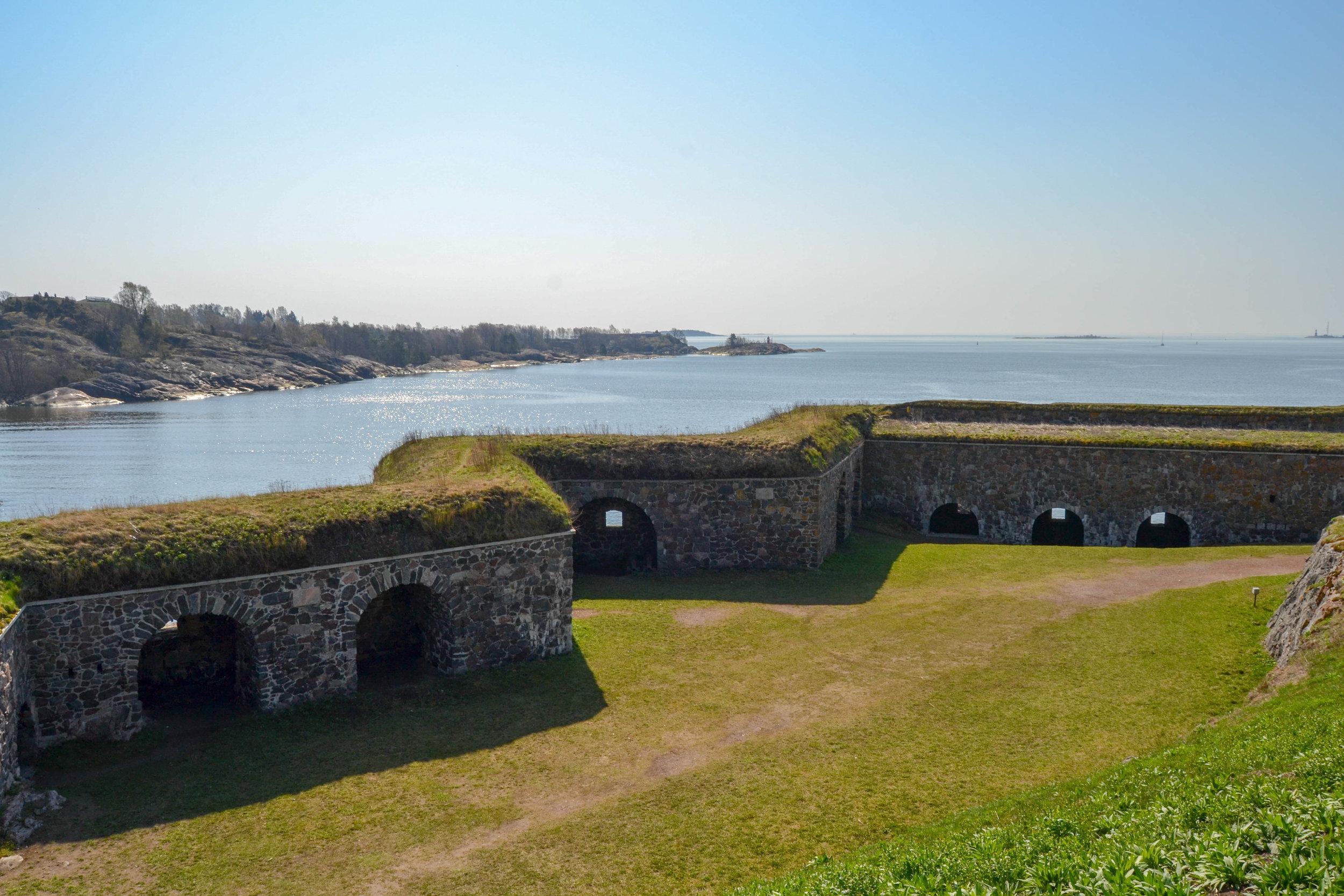 Suomenlinna Battlements