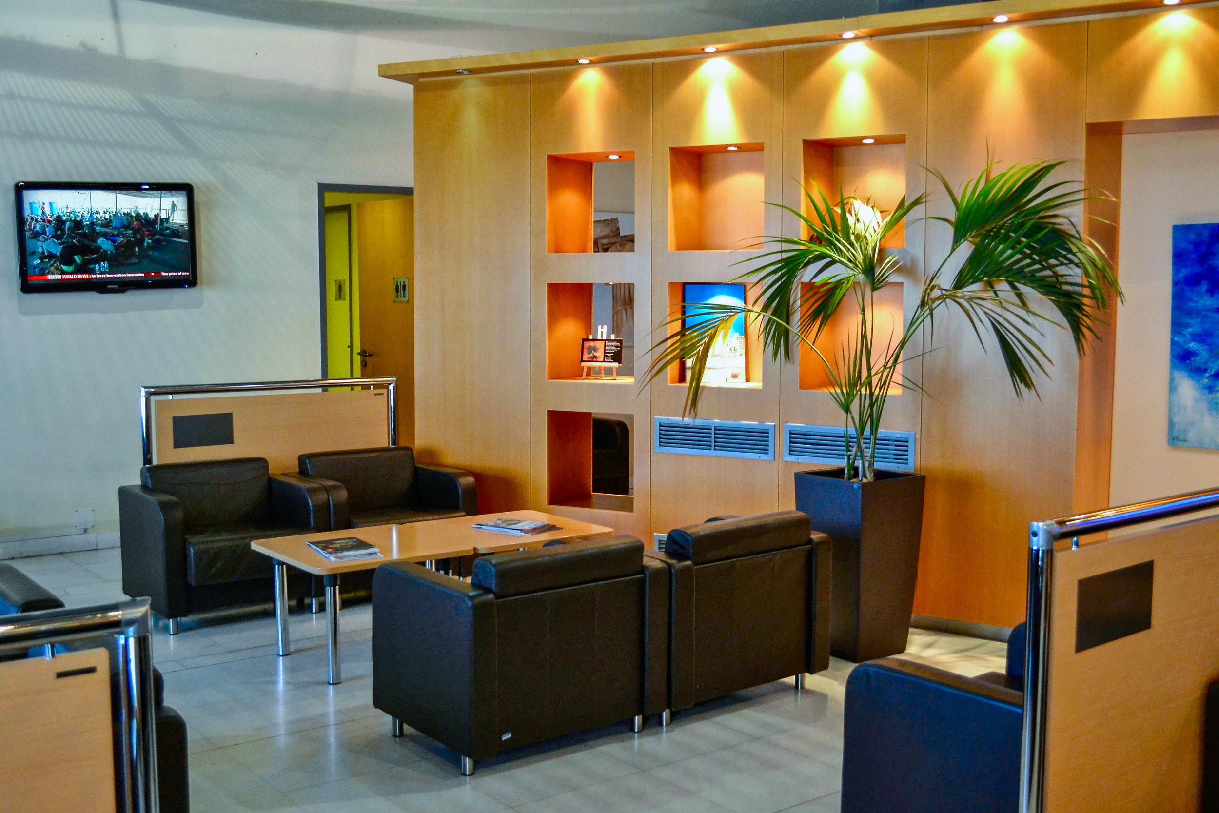 Aristotle Onassis Lounge in Athens Airport
