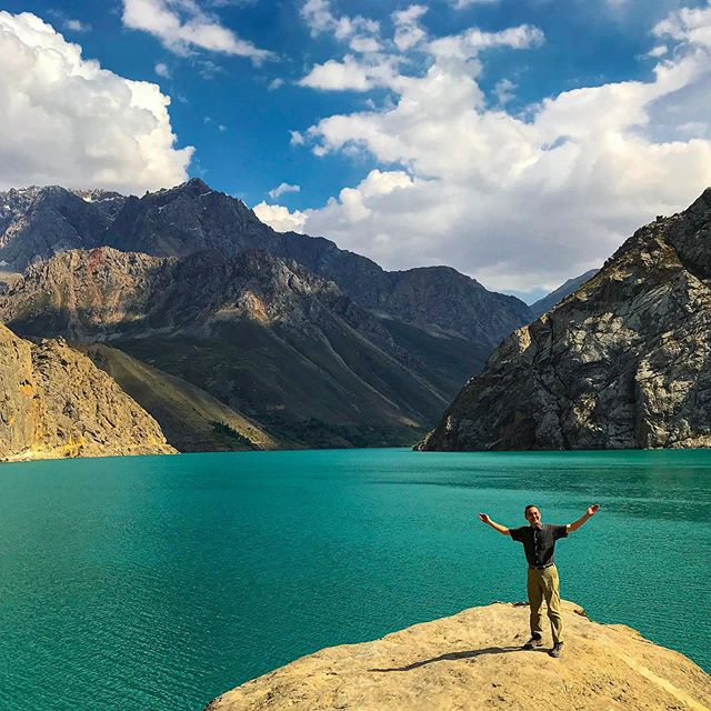 The Fann Mountains in Tajikistan are home to truly amazing landscapes and views.  This is definitely a unique area to visit.  I'm extremely grateful that I had the chance to see the Fann Mountains and check out a part of the world that is not often visited. #centralasia #tajikistan #travelphotography #landscapephotography #landscape #mountains #travelingwithaview #travel #fannmountains