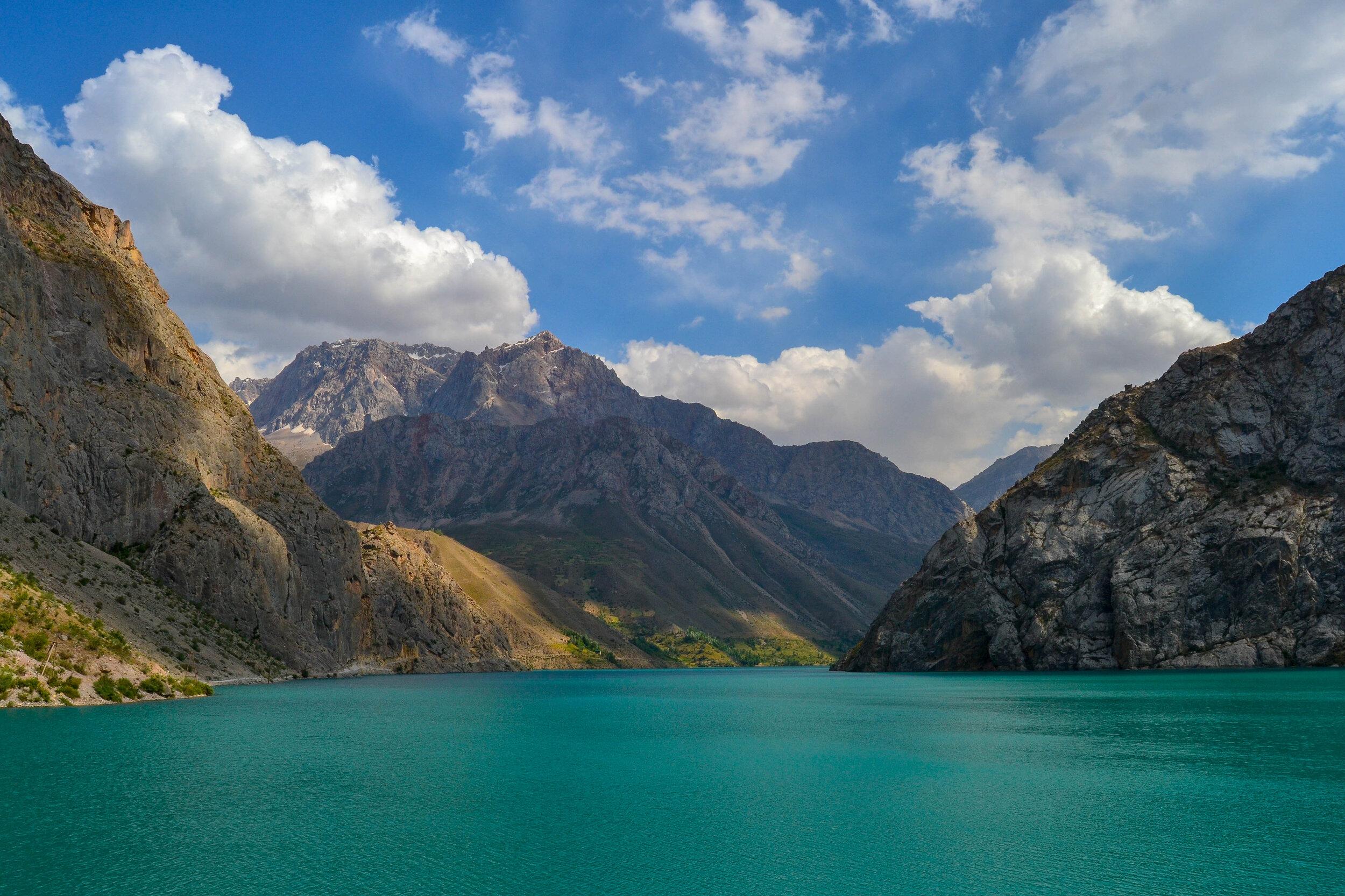 The Fann Mountains of western Tajikistan