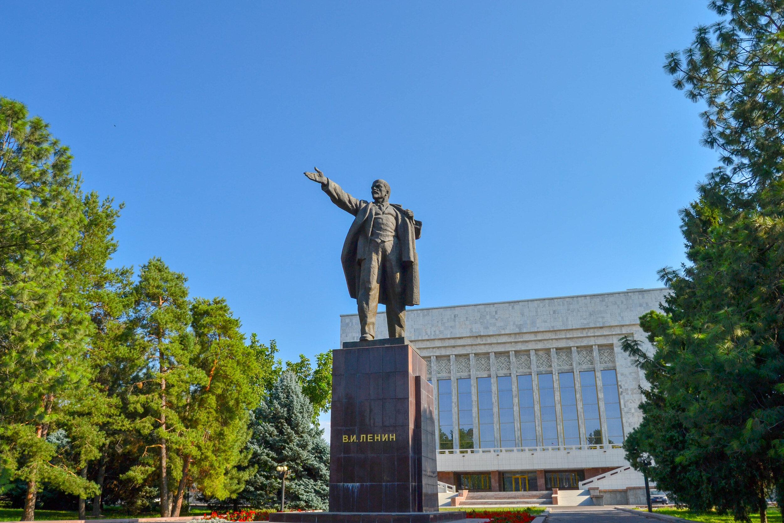 Vladimir Lenin in Bishkek