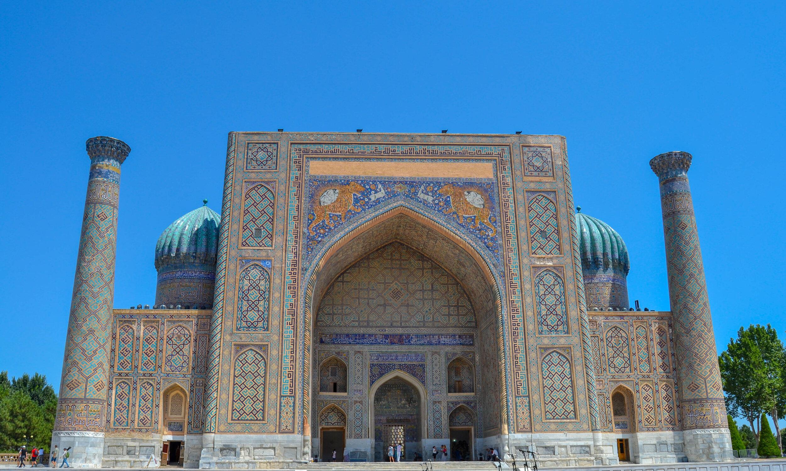Sher-Dor Madrasah in Samarkand