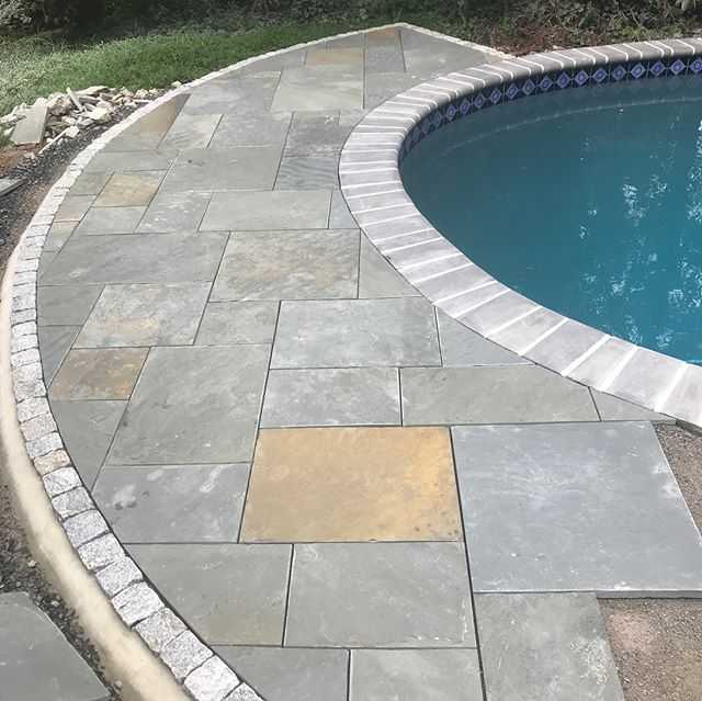 Excited to share the progress on this pool deck in Yardley!