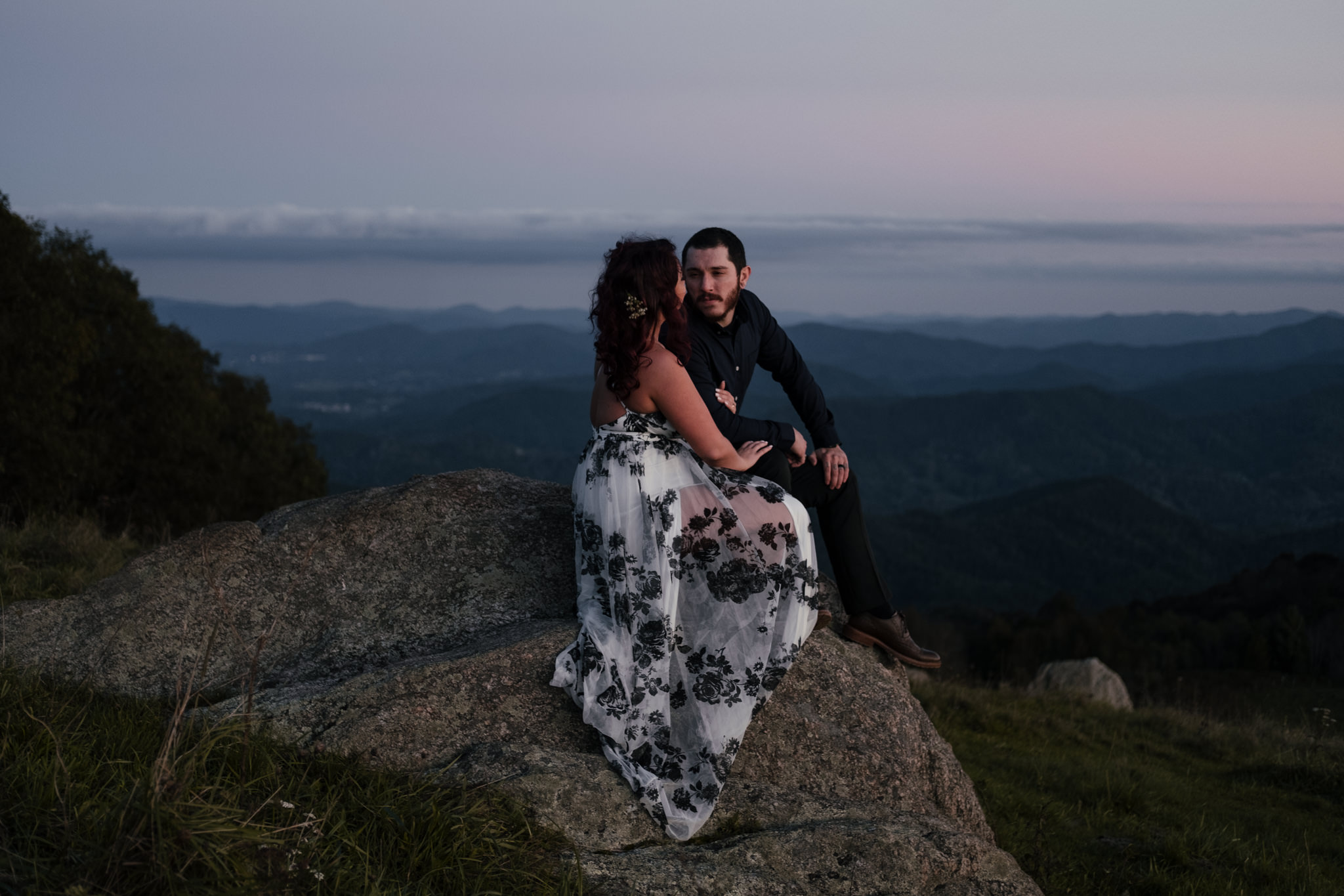 Audra & Bryce: Asheville, NC Engagement