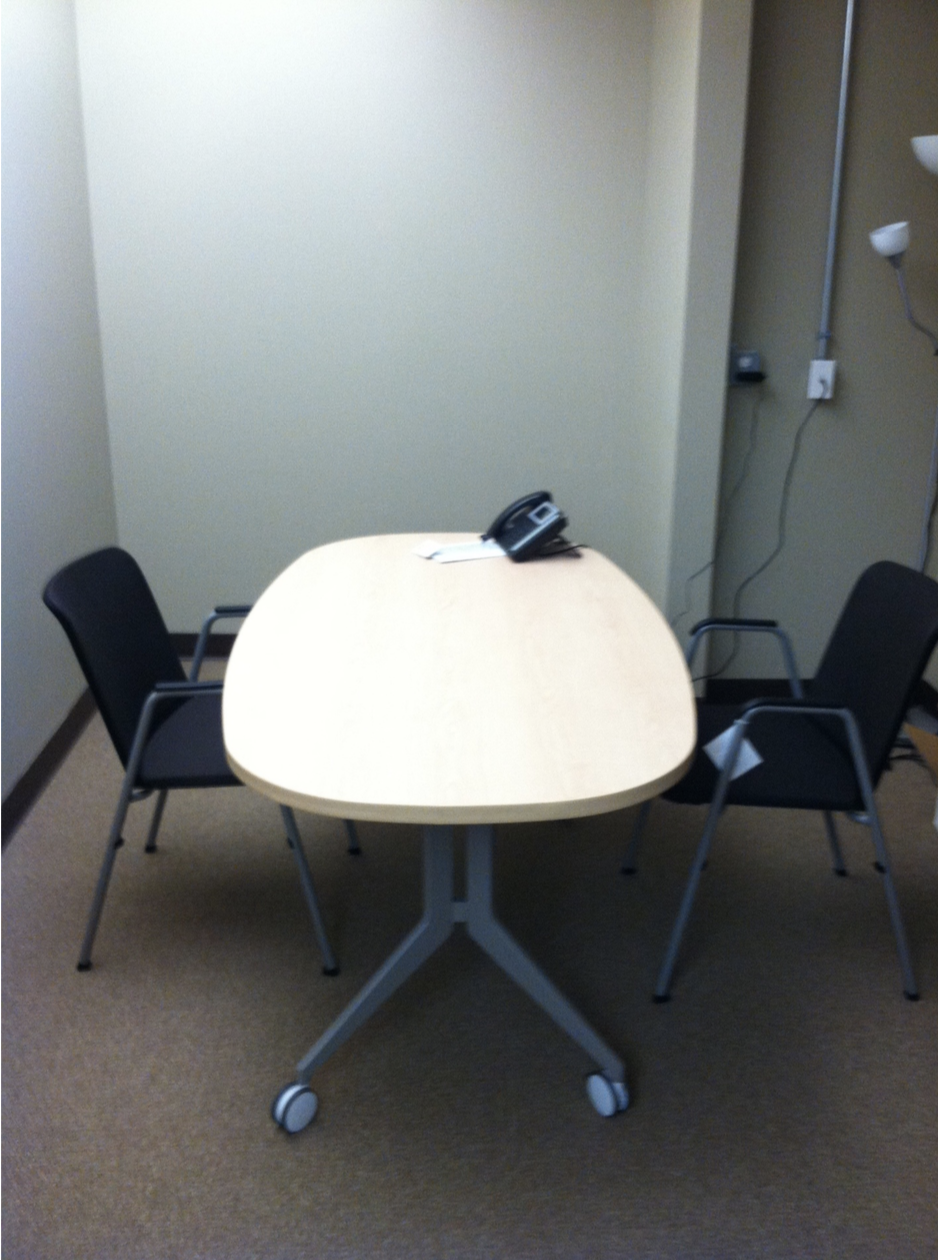 We even had a conference room
