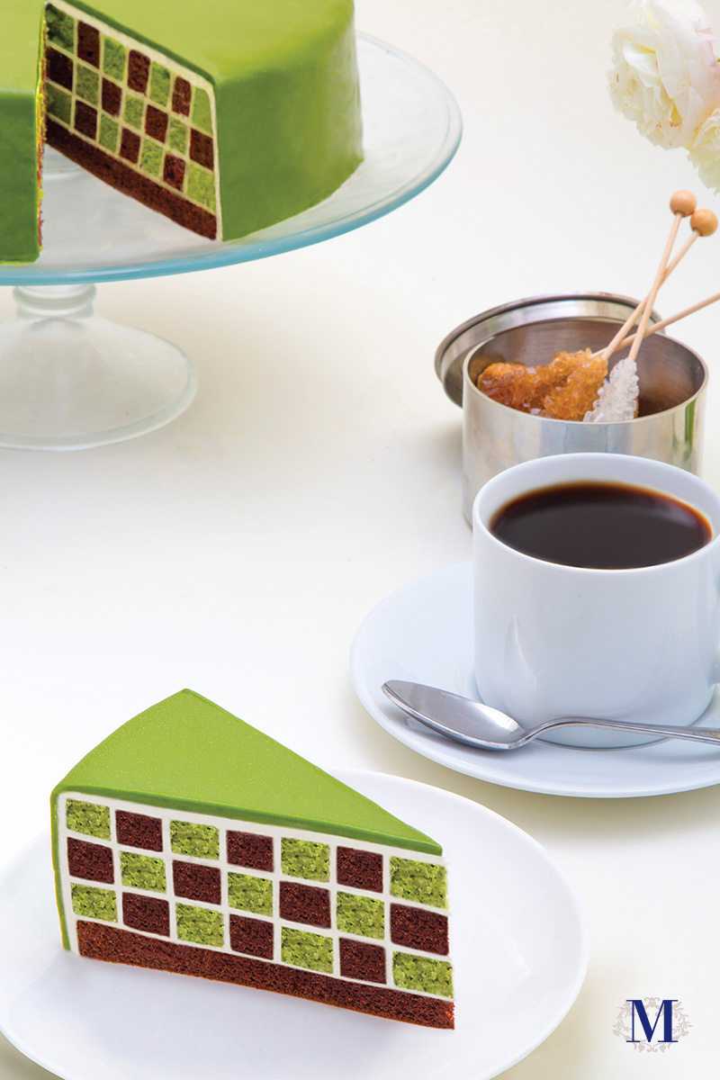 Green Tea Checkers Afternoon Tea.jpg