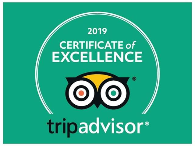 Better late than never for this post! Thanks to our fantastic guests who took the time to review us and to our wonderful guides who provided excellent experiences, we were awarded a 2019 Certificate of Excellence from Trip Advisor.