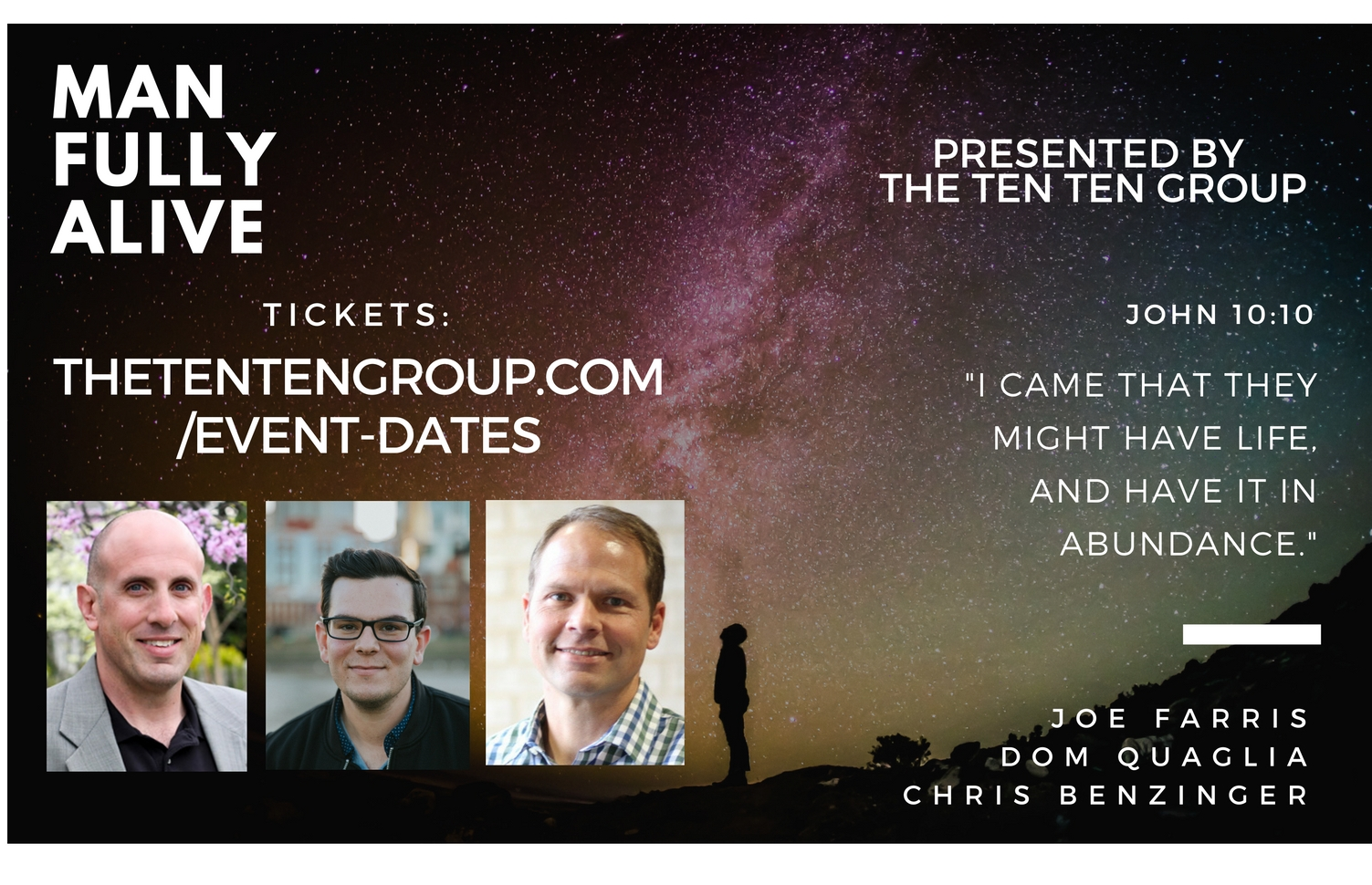 For tickets, find the date you'd like to attend  here .