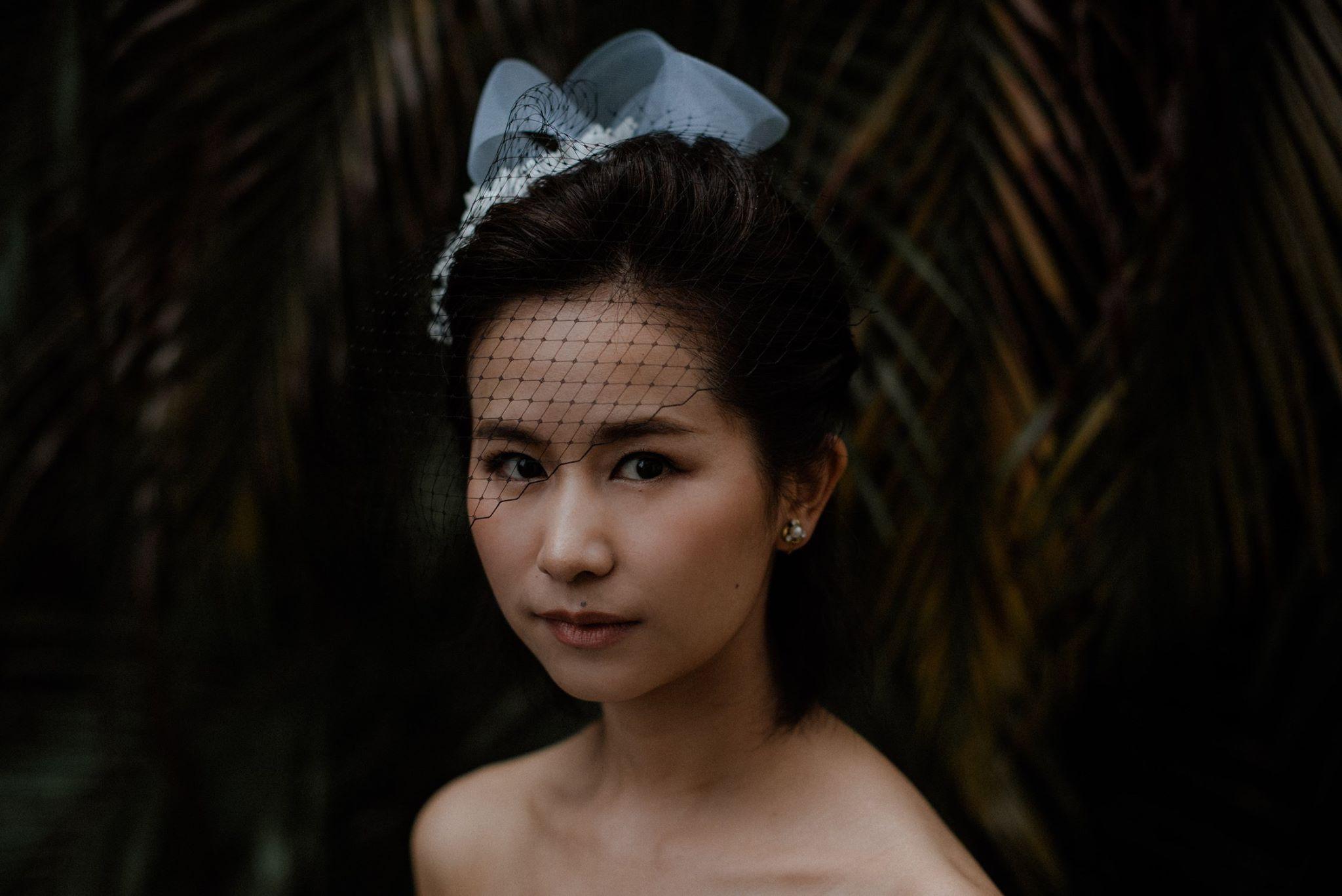 MAKEUP - Eva Jiang PHOTO - GOOD DAY Photography HAIR - Sunner