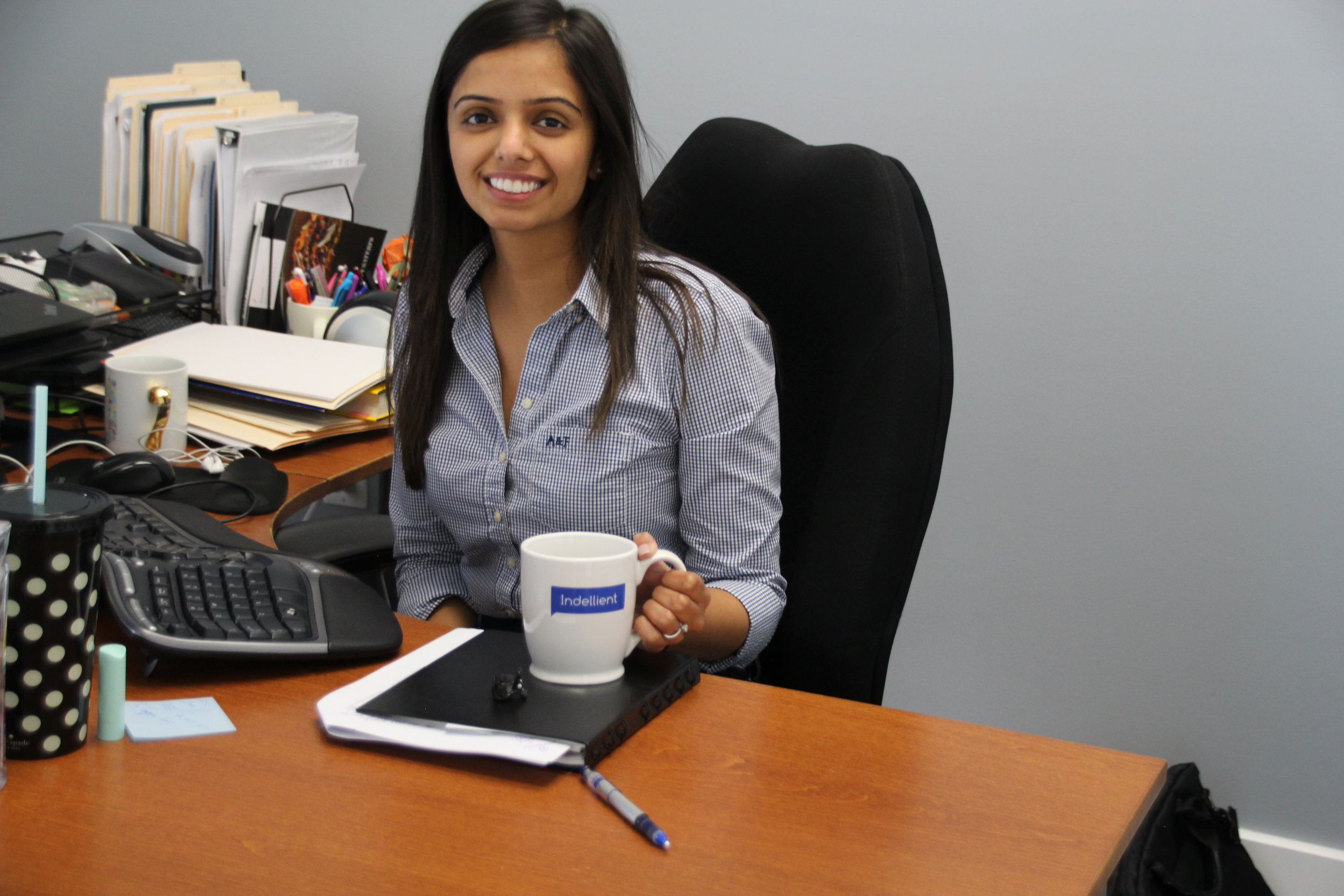Japneet Gill, Human Resources Manager with  Indellient