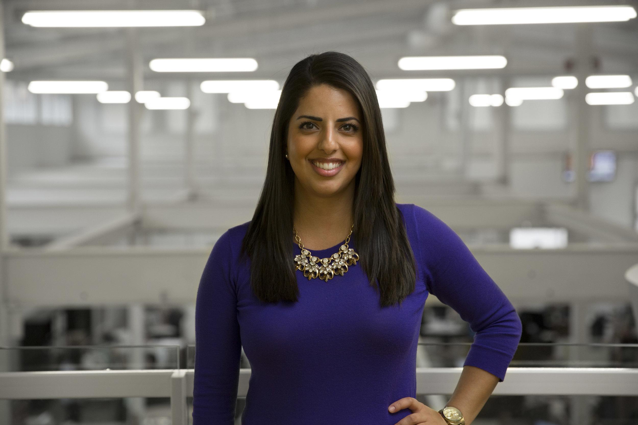 Jav Saeidi, Employee Experience Manager with  LookBookHQ