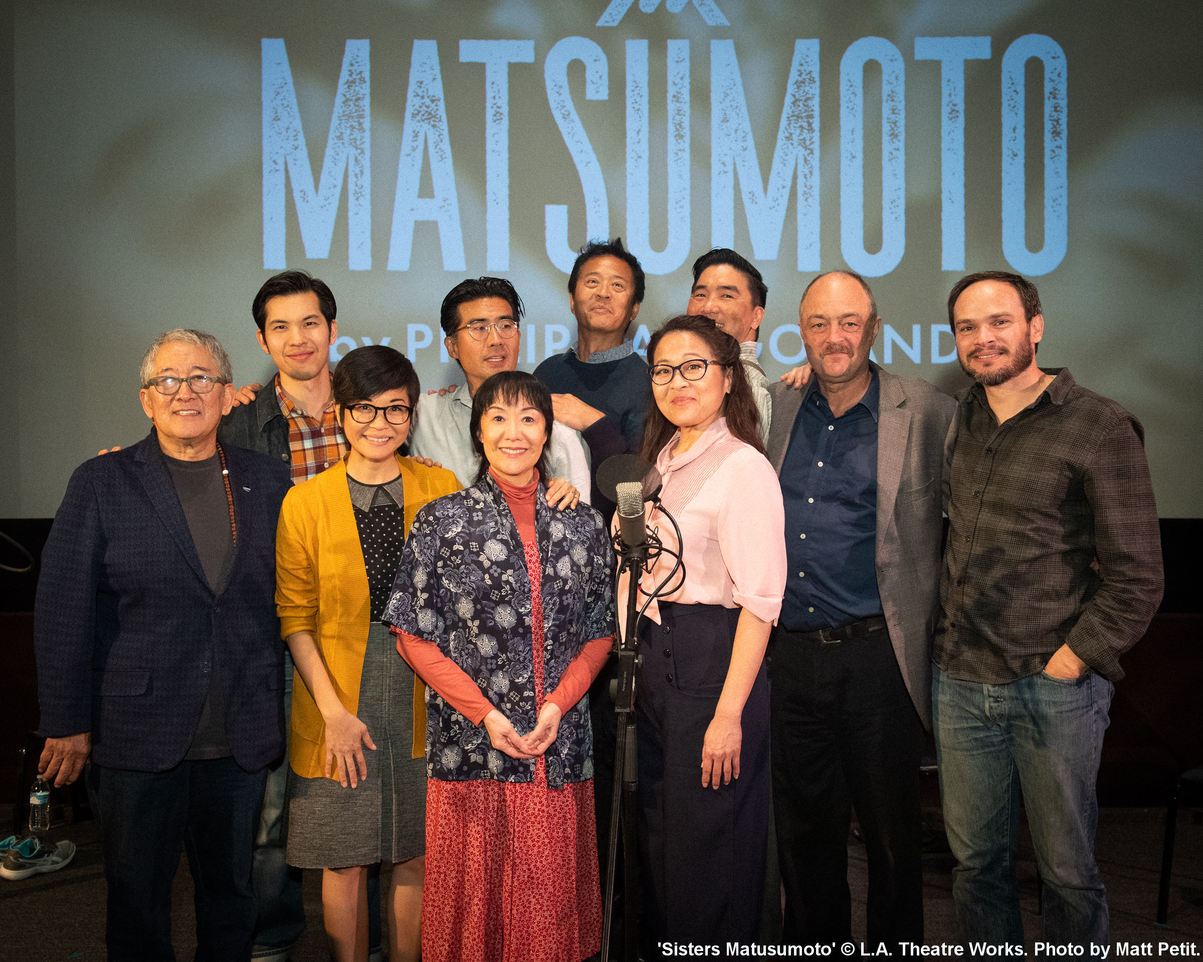 16. Cast, Author, Director in 'Sisters Matusumoto'. © L.A. Theatre Works. Photo by Matt Petit.jpg