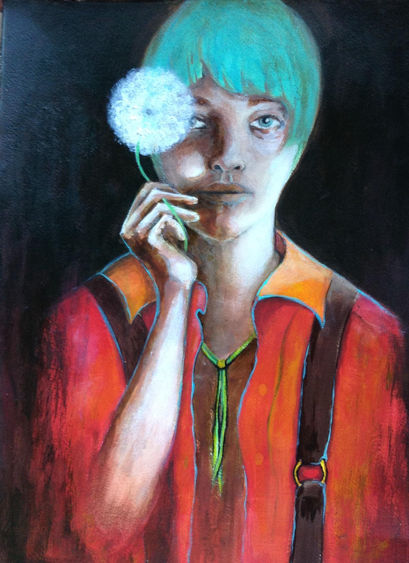 """I See My Dream"" - Suspender Girl"