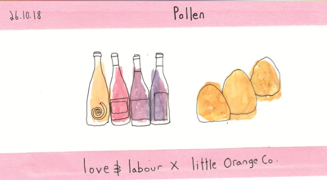 Fri 26 October 2018 - Lovely Love + Labour and lovely Little Orange Co are making good use of Pollen Bakery's new unit in Ancoats with a three course supper club. For a Sicilian journey sprinkled with puds and wines I can think of no better way to end your week.Tickets £5 + £45 on the night.