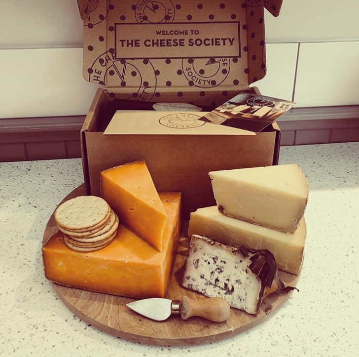 I think you're grate: The Cheese Society