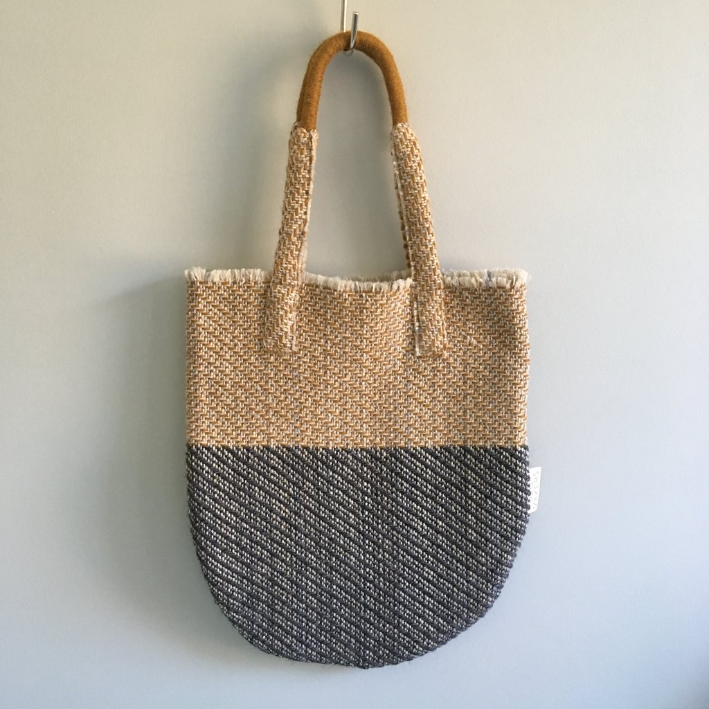 Martha Bag by Rag Makers £60 - Rag Makers is a mother and daughter practice, inspired by women who spent their lives working in the rag trade. Based in West Yorkshire, this bag is the perfect gift for a busy lady.Buy at rag makers.com