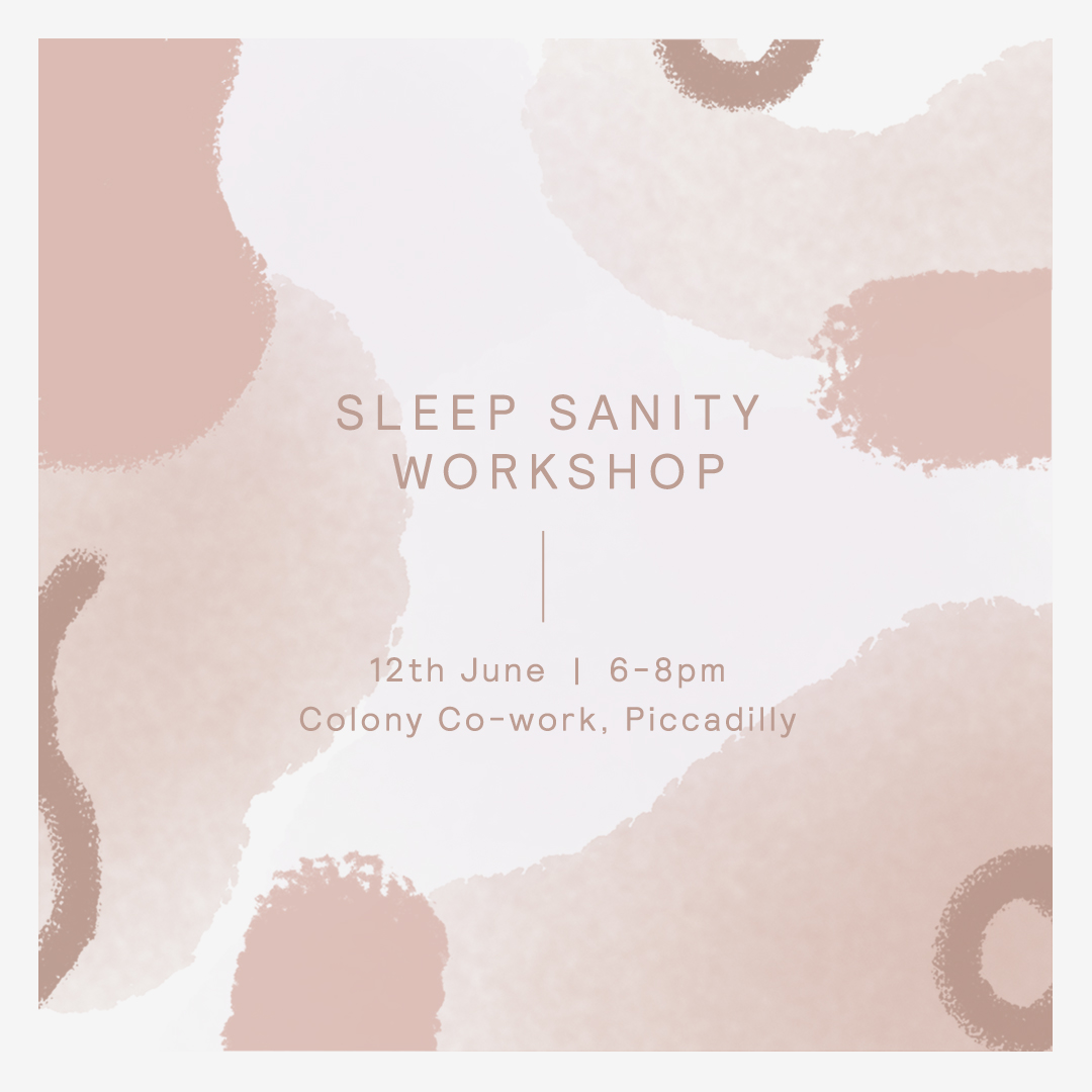 A Sleep Sanity Workshop by Yolk - Are you in need of a good night's kip but just can't seem to nod off? Join Yolk and some special guests on Wednesday 12th June for a dose of sleep sanity.Taking place at Colony Coworking from 6-8pm, cocktail connoisseur Emma Roberts from Into the Gathering Dusk will be whipping up some summery mocktails using wild herbs and a host of calming ingredients, from chamomile to lavender before the zen AF Polly Fowler leads guests through some sleepy yin yoga postures; perfect for rest and recovery.Tickets £12 on Eventbrite