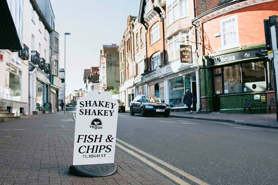 Shakey Shakey Fish Bar, Ramsgate - Tucked away in the back streets of this royal harbour city, Shakey Shakey has become a go-to for Kent's gluten-intolerant population in search of good fish and chips. Earning a cult following for its fantastic food, friendly staff and secret-recipe seasoning – which is available to buy – Shakey Shakey's menu ticks off the classics (including cod, haddock, scampi and fishcakes) with trimmings, while a newly launched vegan menu is sure to win over even more devotees.facebook.com/shakeyshakeyfishbar