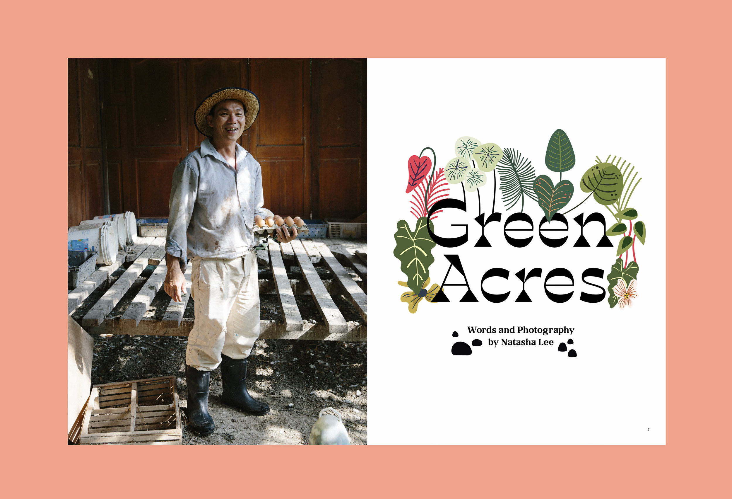 Green Acres from the Nature Issue