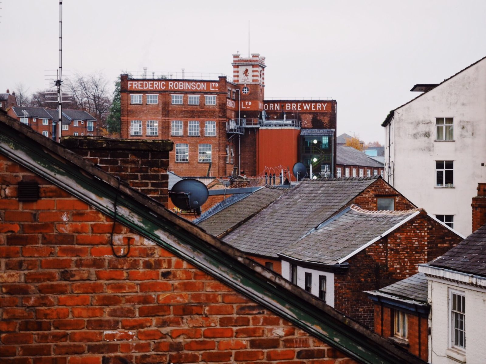 Stockport's Robinsons Brewery