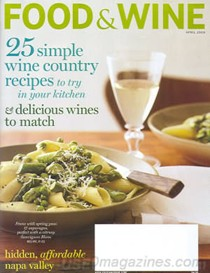 Food and Wine<br>April 2010