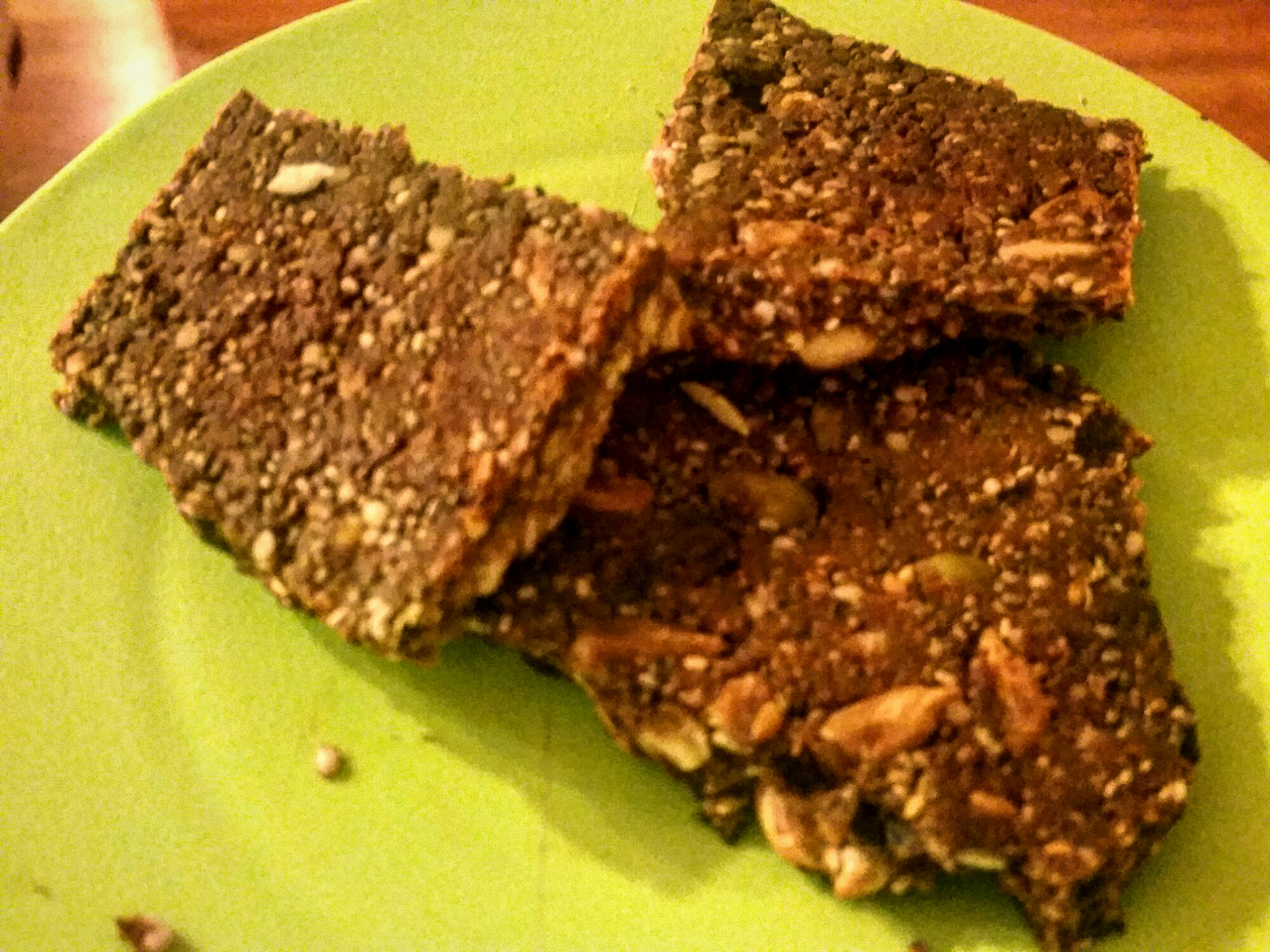 - Seedy Chocolate Coconut Butter Bars (Paleo, Vegan)