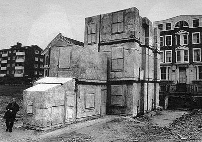 Rachel Whiteread, House, London, UK, 1993-94