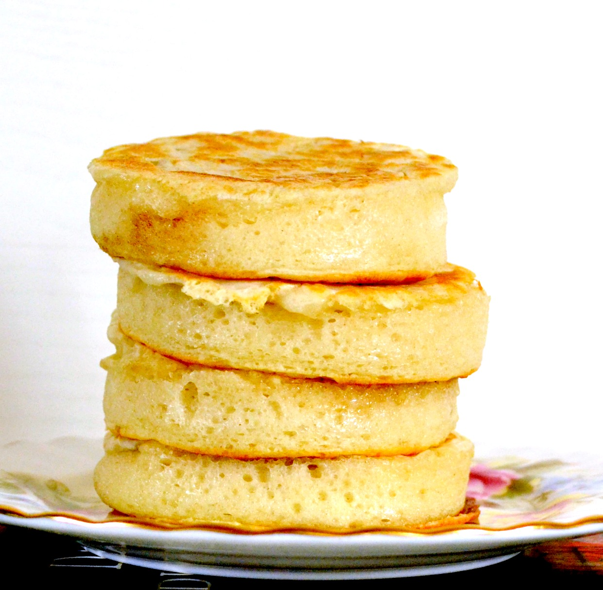 Crumpets from Rebecca by Daphne du Maurier