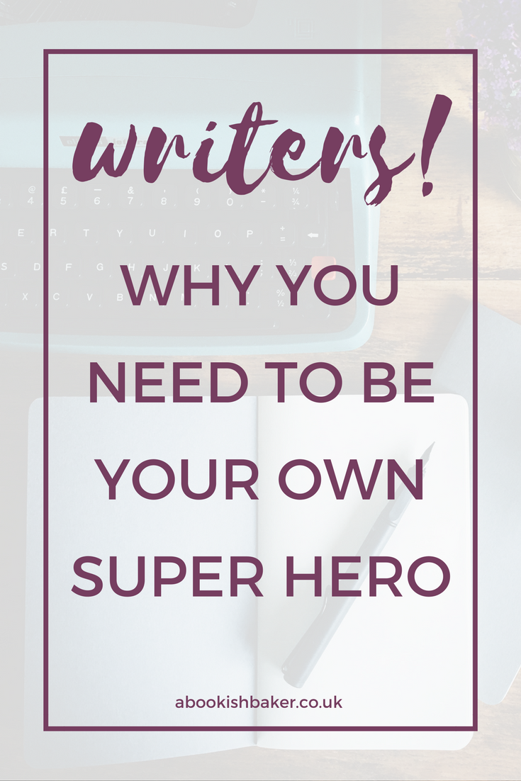 Writers can't just wait to be discovered with all the noise online. You have to go out there and find your audience and create your own author platform.