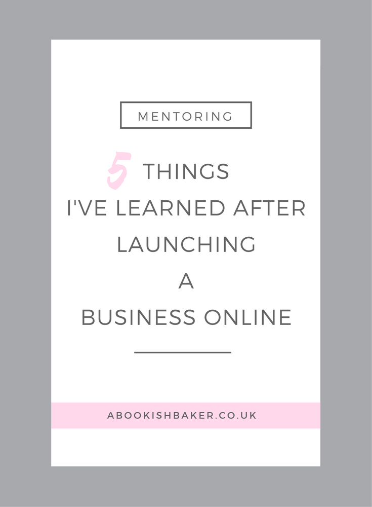 5 things i've learned after launching a business online