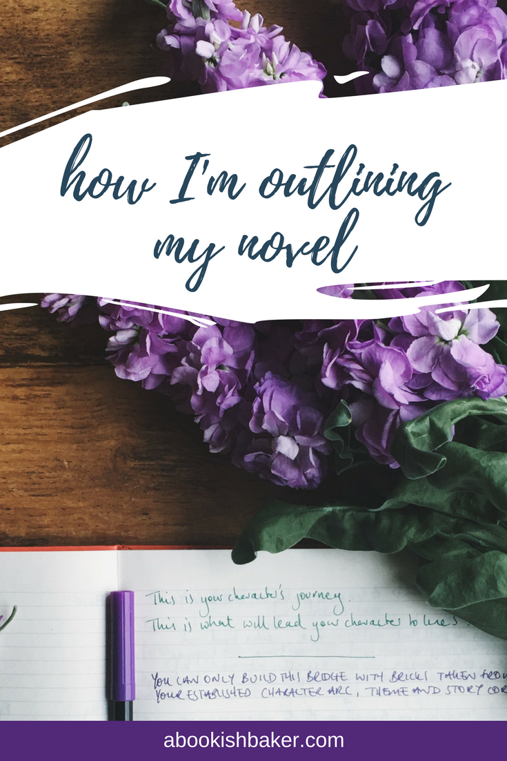 How I'm outlining my novel