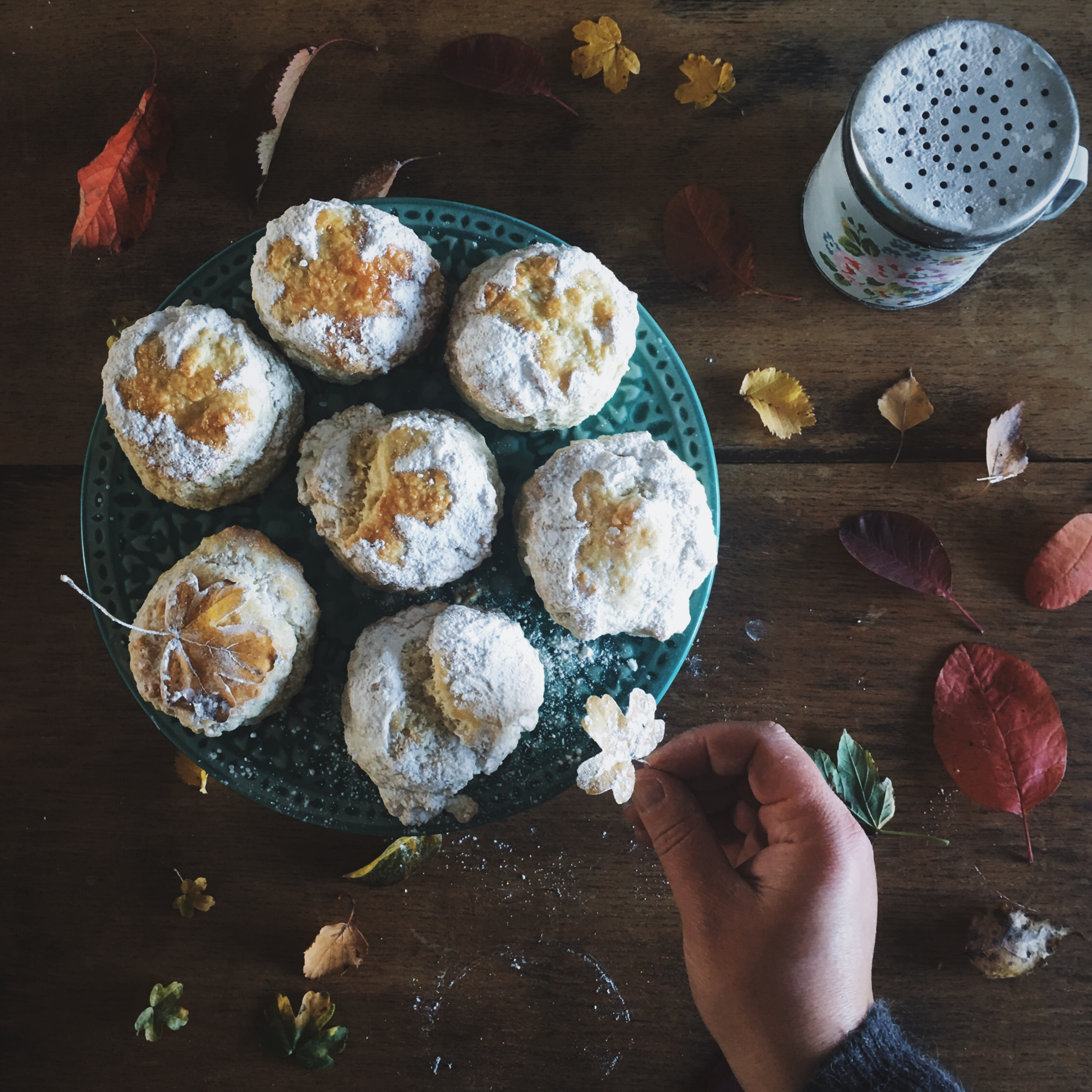 a simple scone recipe on a bookish baker