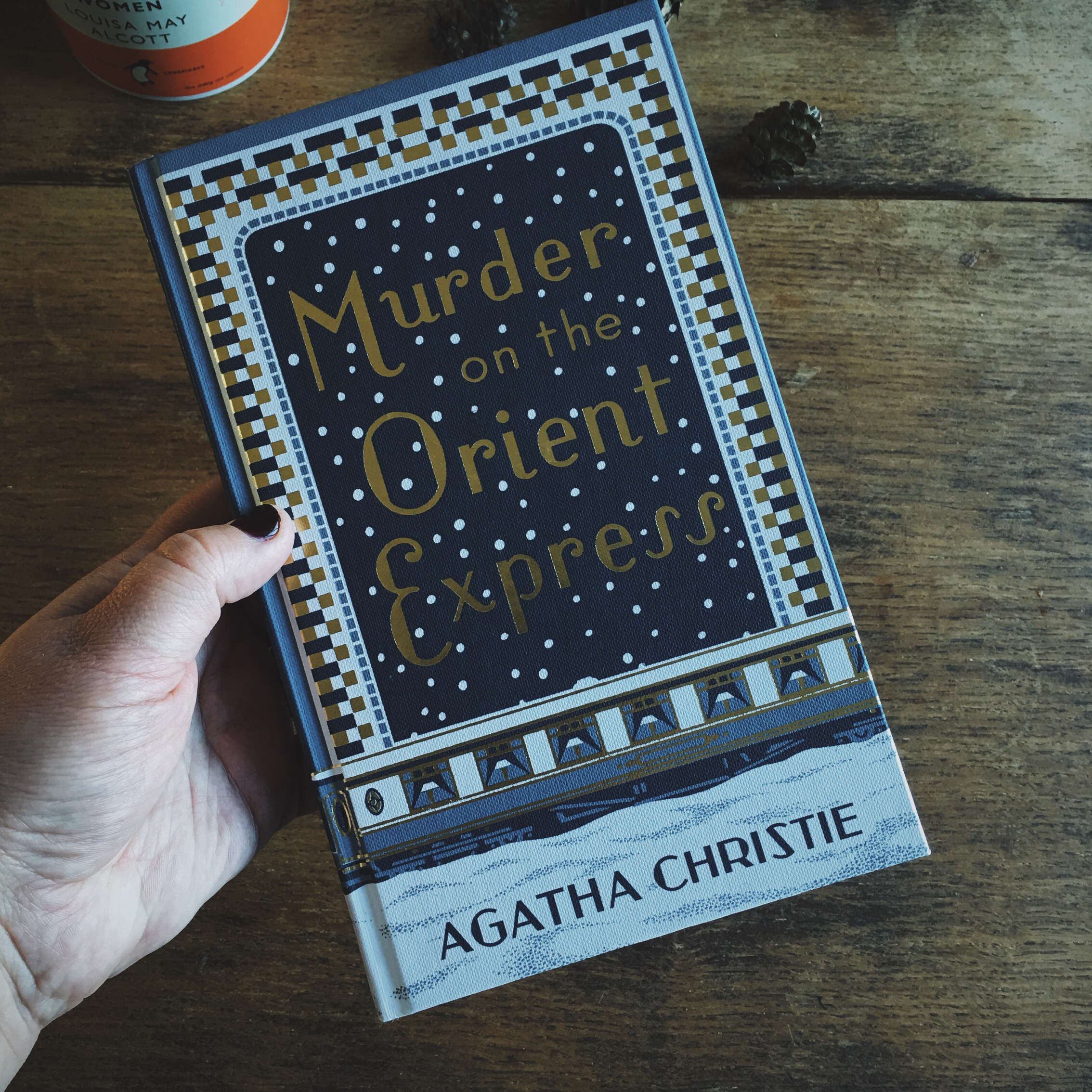 Murder on the orient express by agatha christie hardback edition