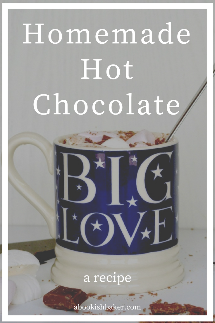 easy, comforting and cosy homemade hot chocolate
