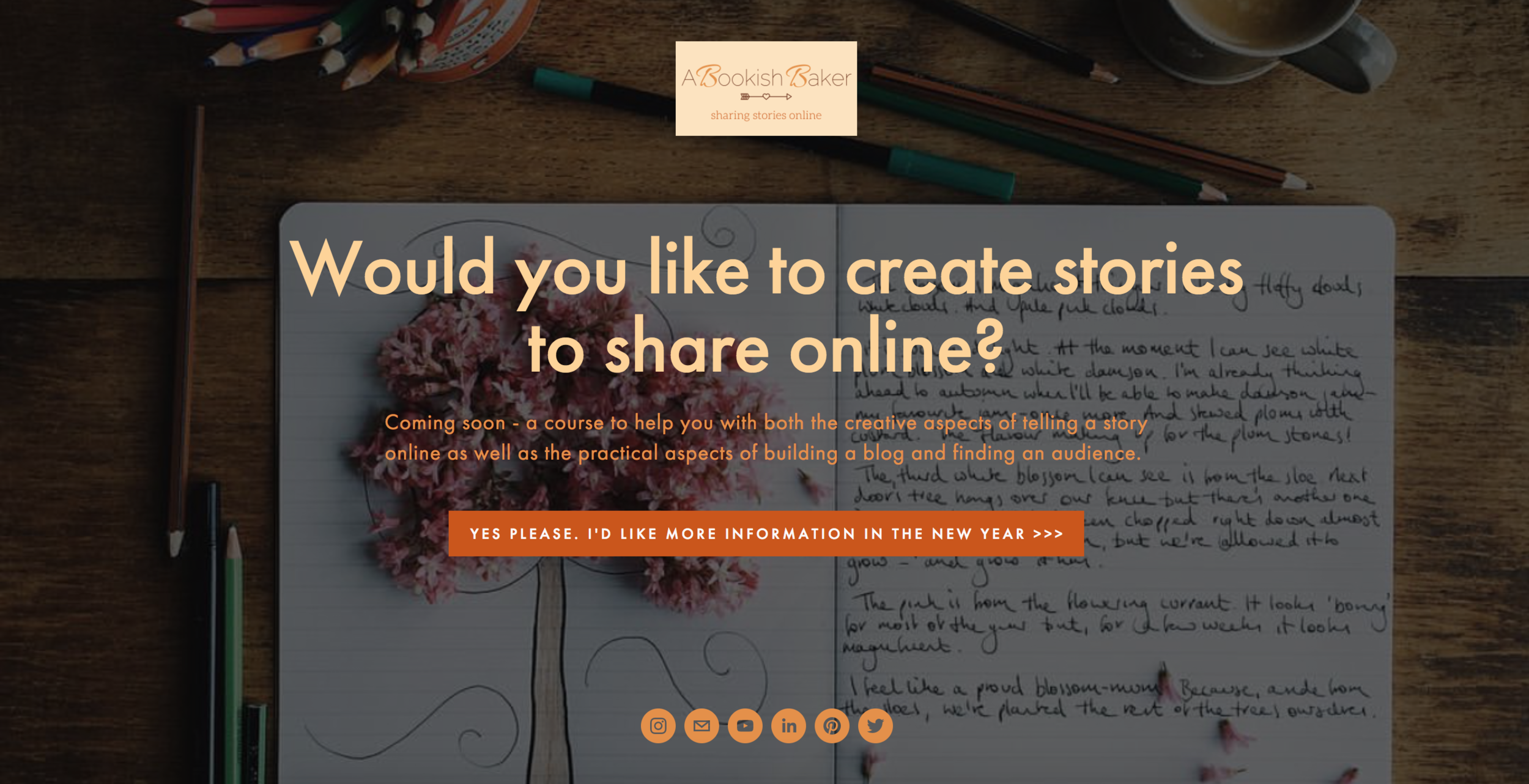 sharing your online story
