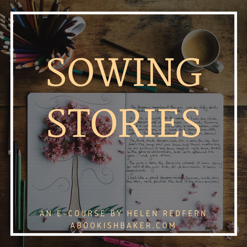 sowing stories - the e-course