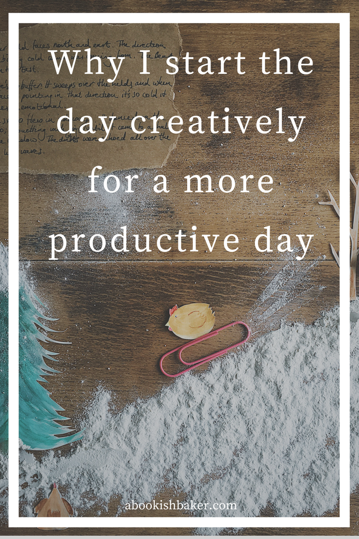 why I start the day creatively for a more productive day
