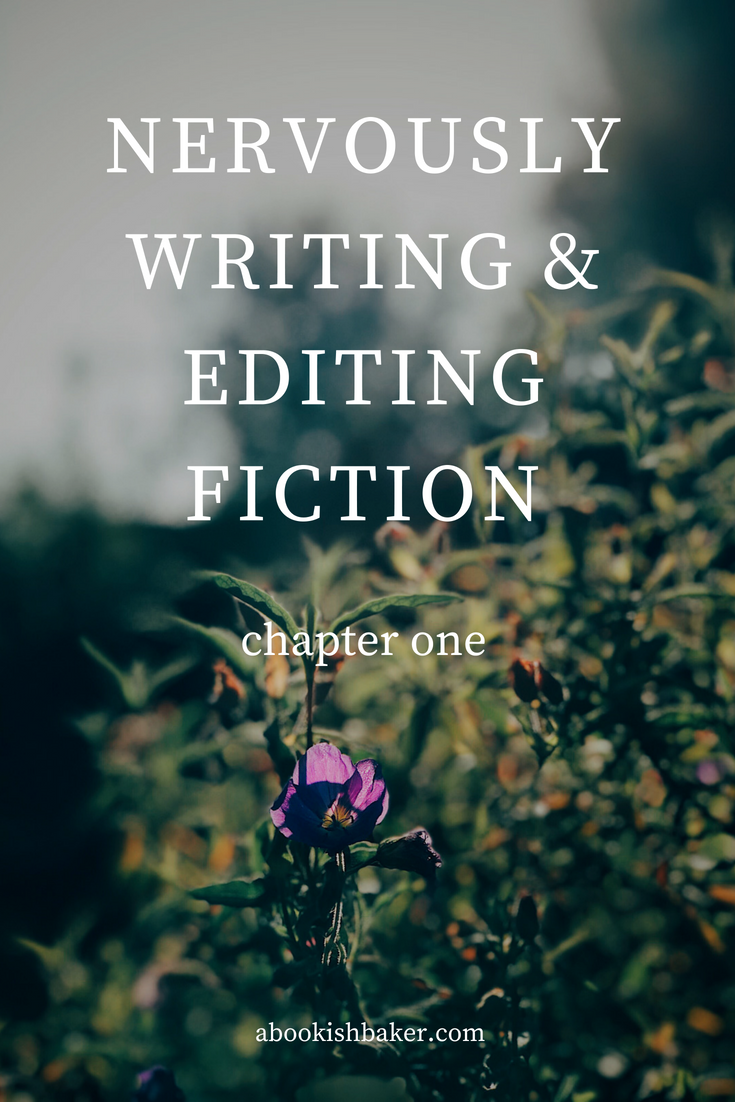 nervously writing and editing fiction