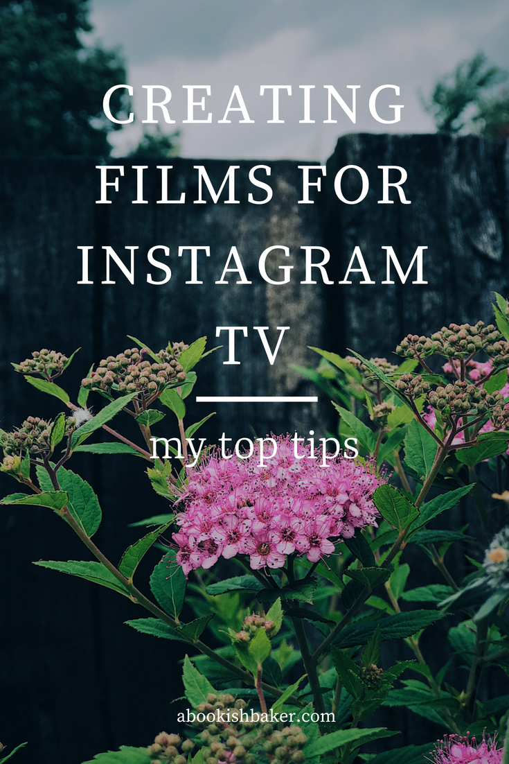 creating films for instagram tv #igtv