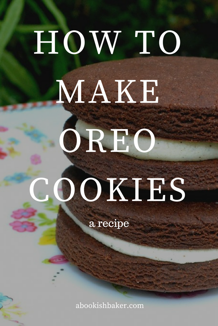 how to make your own oreo cookies. Homemade.