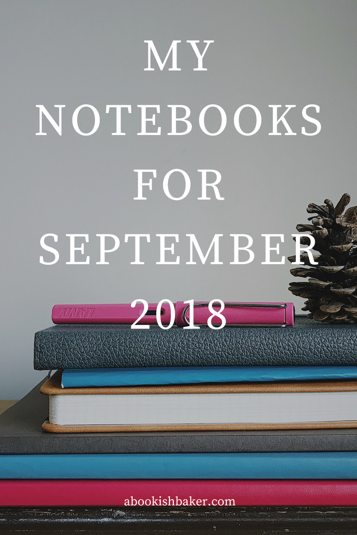 notebook haul for september 2018
