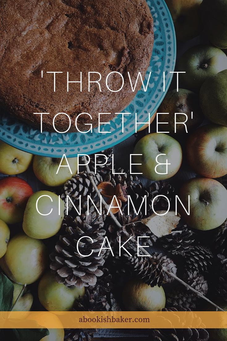 'Throw it together' apple & cinnamon cake