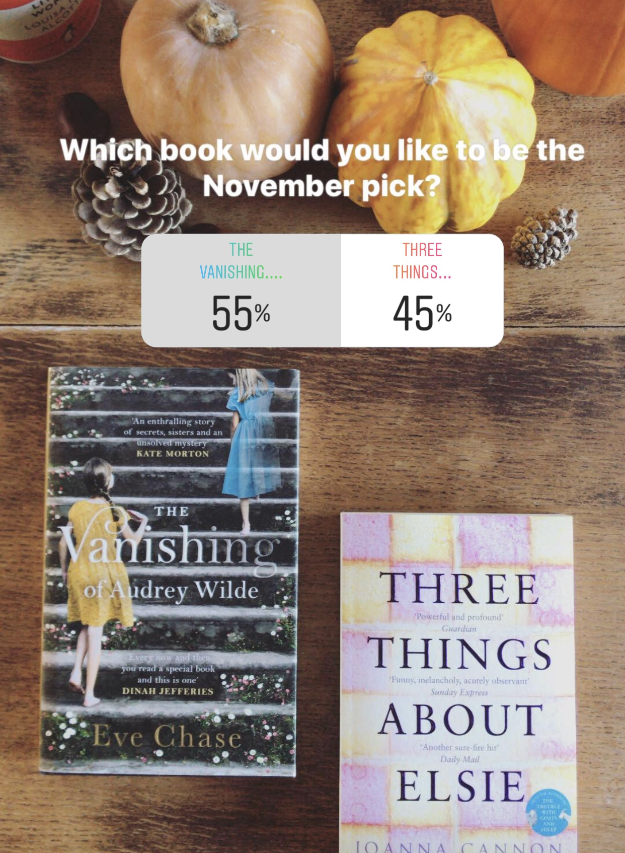 the a bookish baker book club on instagram