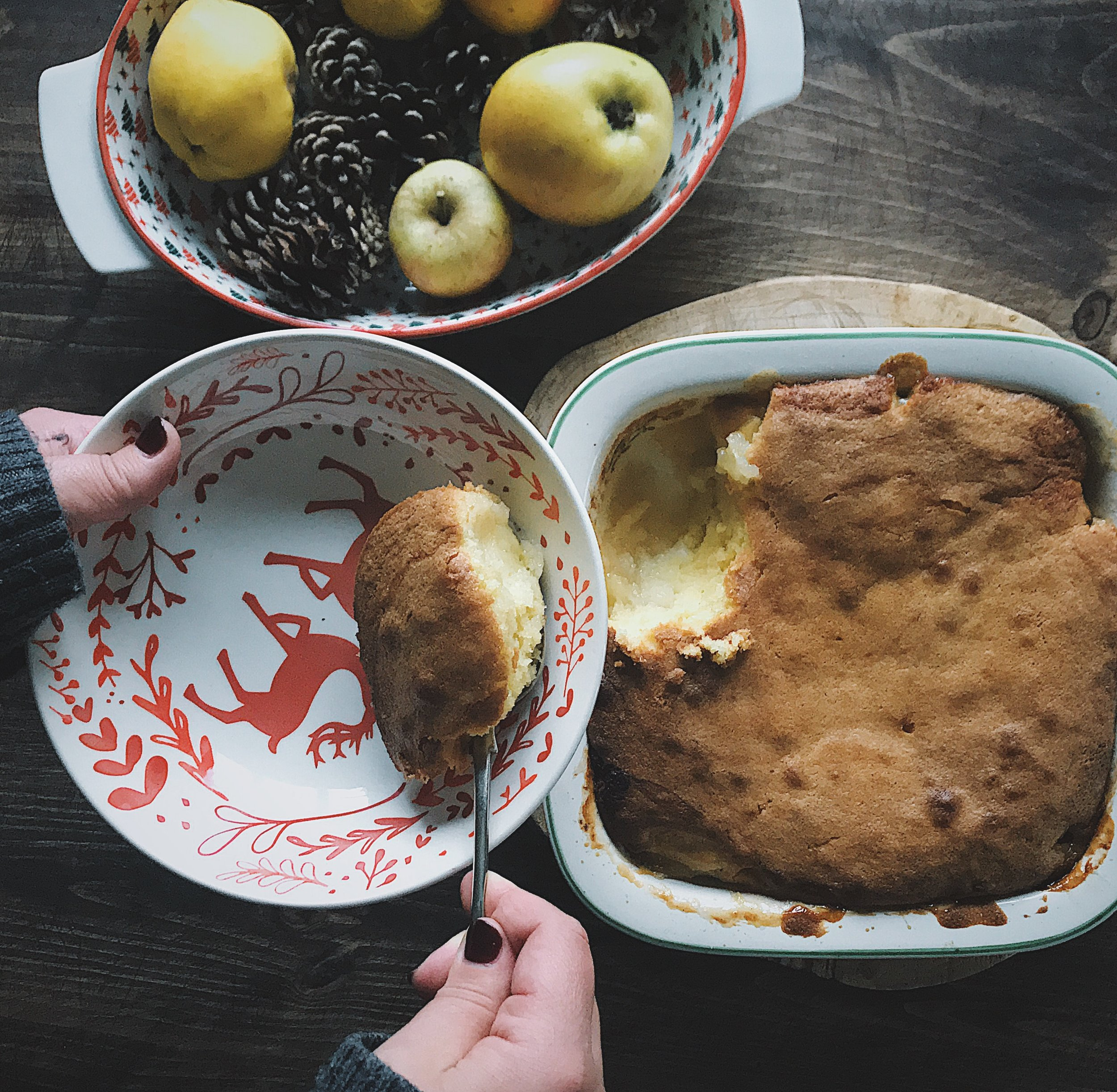 how to make Eve's Pudding