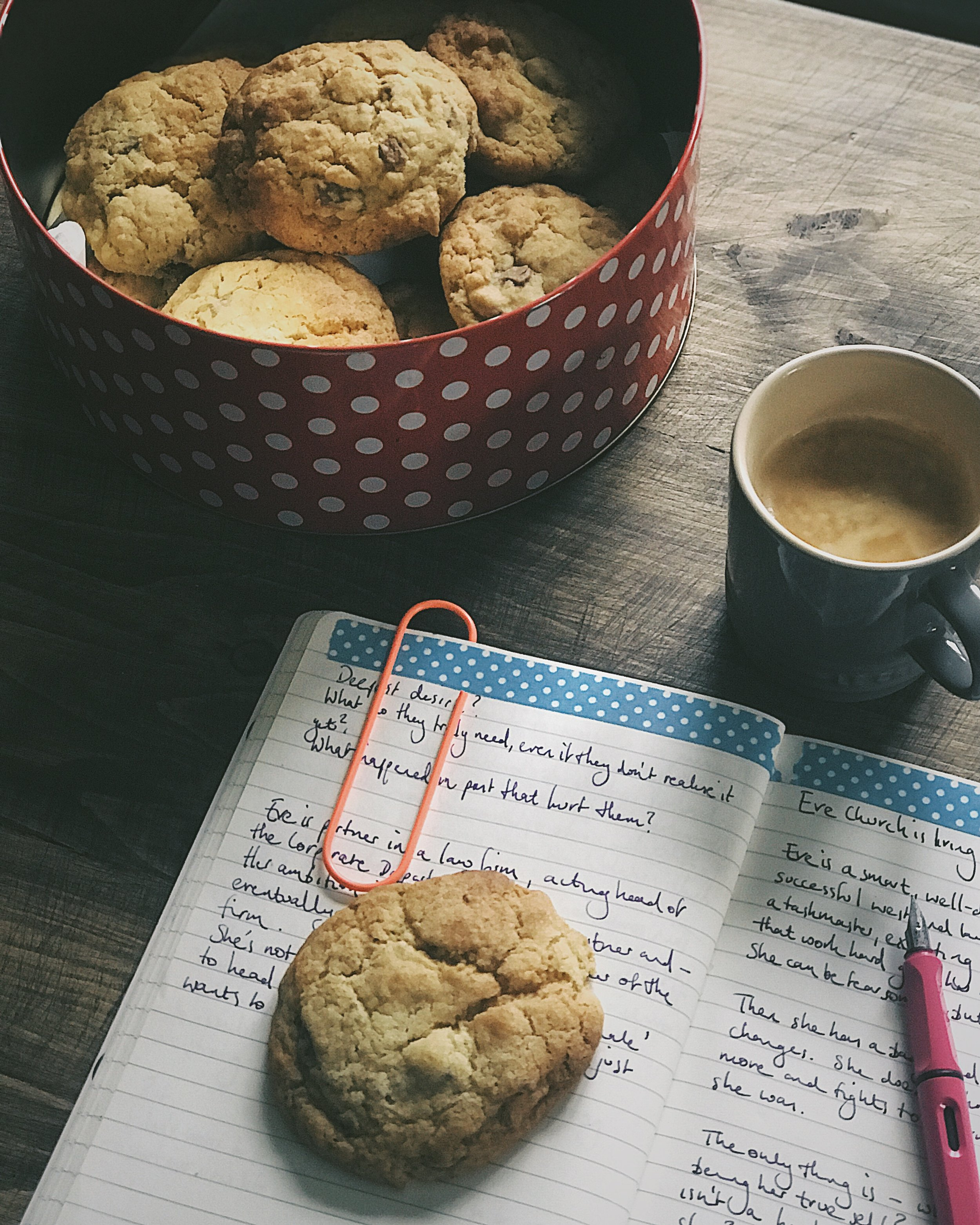 Recipe for chocolate chunk rock cakes